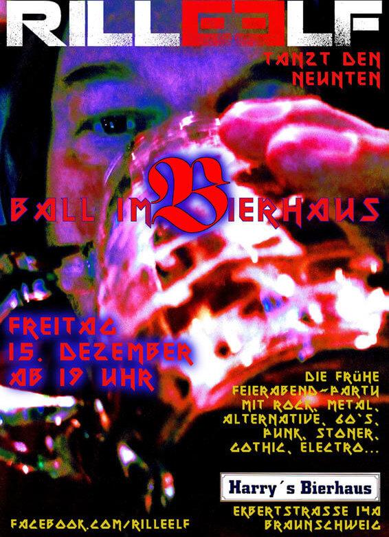 9. Ball im Bierhaus, 15.12.2017