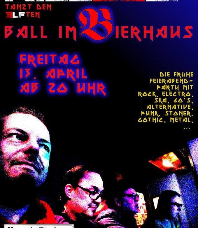 11. Ball im Bierhaus, 13.4.2018
