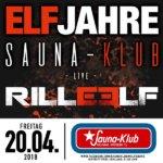 Playlist: 11 Jahre Sauna-Klub Wolfsburg, 20.04.2018