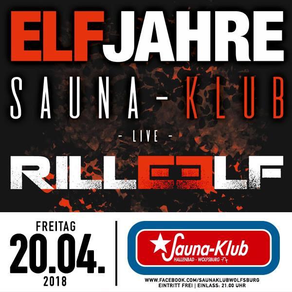 Elf Jahre Sauna-Klub Wolfsburg, 20.4.2018