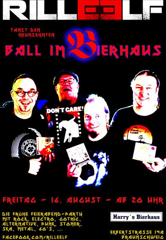 19. Ball im Bierhaus, 16.8.2019