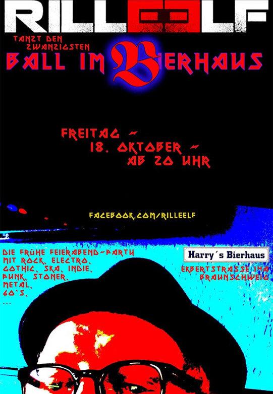 20. Ball im Bierhaus, 18.10.2019