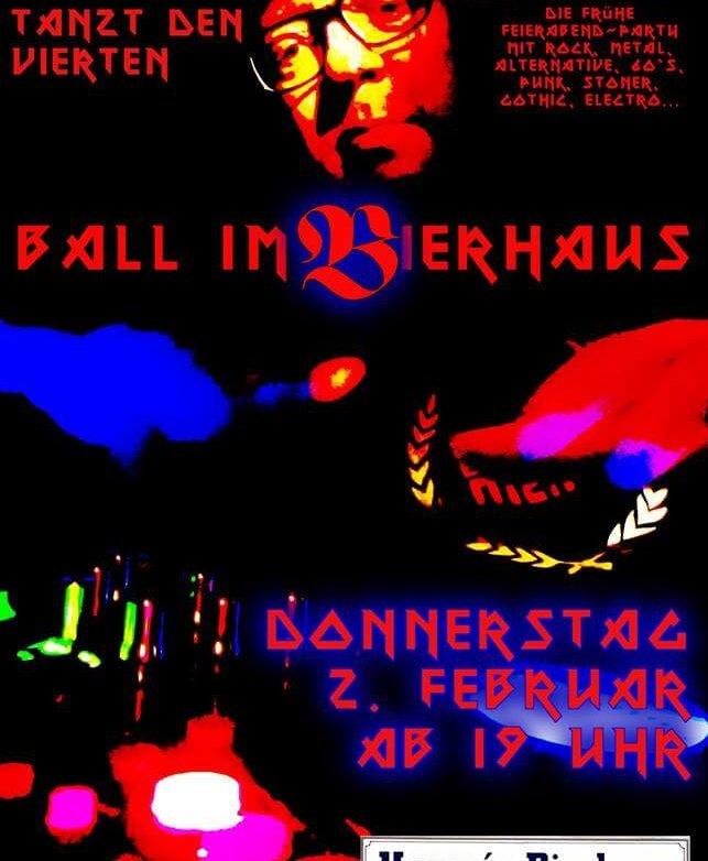 4. Ball im Bierhaus, 2.2.2017